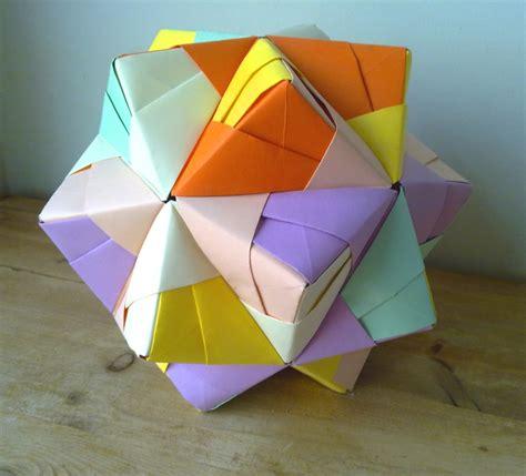icosahedron origami origami icosahedron comot