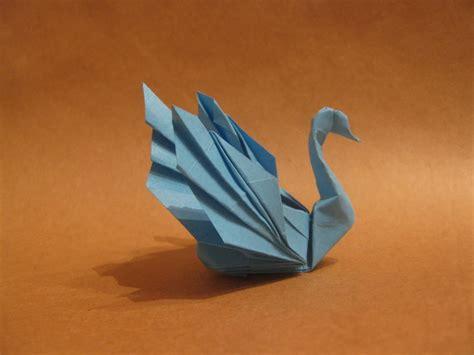 origami paper swan 3d origami swan 2016