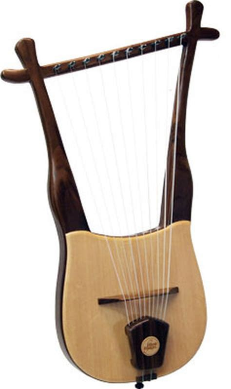 lyre musical instrument walnut lyre musical string instrument heritage by