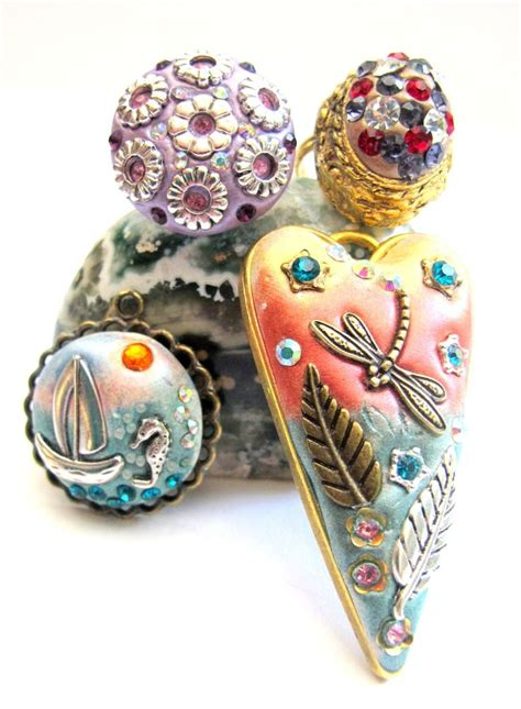 best clay for jewelry 24 best epoxy clay images on clay jewelry