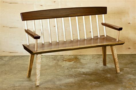 country woodworks spindle bench products solidbench with deacons