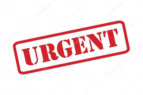 Urgent Rubber St Vector A White Background