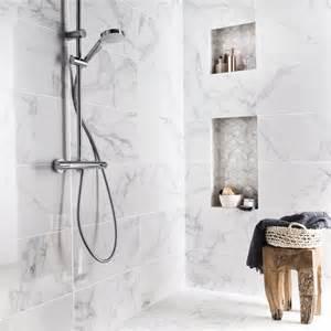 fa 239 ence mur blanc carrare murano l 30 5 x l 56 cm leroy merlin