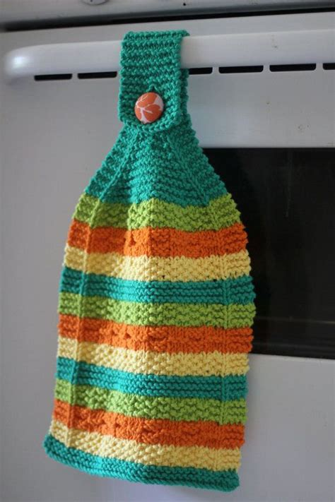 knit kitchen towel patterns 1000 images about free hanging knitted towel toppers on