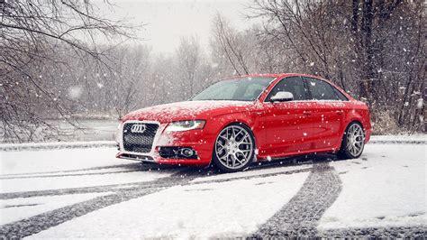 Car Wallpaper Winter by Audi S4 Snow Winter Hd Wallpaper