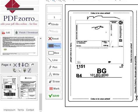 Modification De Fichier Pdf En Ligne by Gratuit Pdf Zorro Un Outil En Ligne Pour Modifier