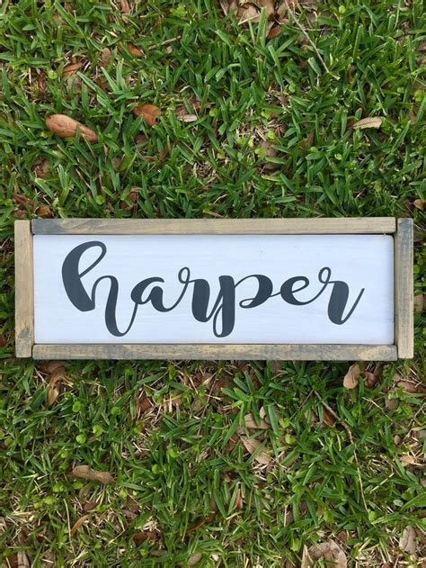 best 25 painted name signs best 25 baby name signs ideas on baby name