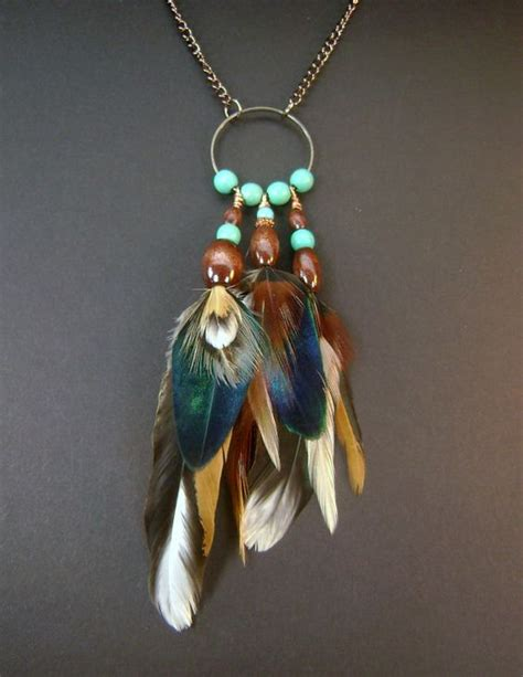 feathers for jewelry real feather necklace copper feather pendant necklace