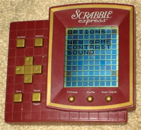 scrabble express sold scrabble express handheld travel electronic