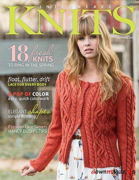 interweave knits magazine interweave knits 2013 187 pdf magazines