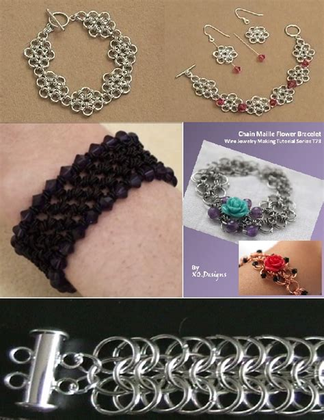 beaded chainmaille jewelry patterns free chain maille jewelry patterns beading and jewelry