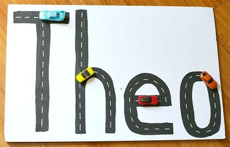 3 Letters Car Name by Name Activities Activities And Toys On