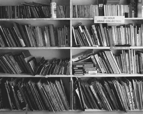 black and white pictures of books tonight gif
