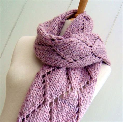 complicated knitting patterns knitting pattern for easy knit lattice scarf the