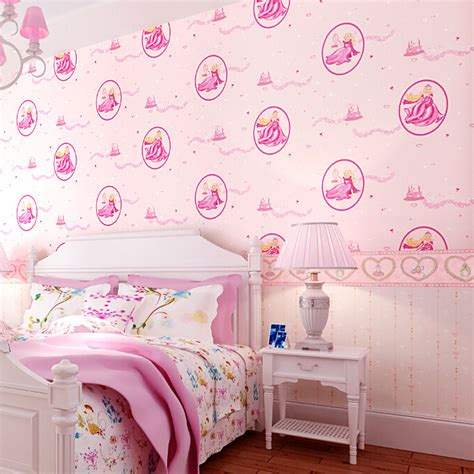 pink wallpaper for bedroom pink disney princess bedroom wallpaper