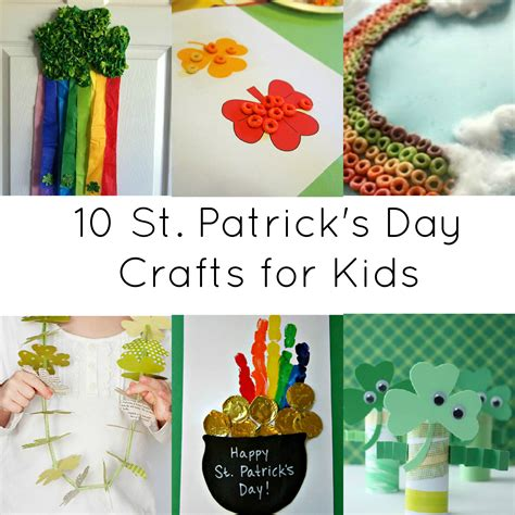 Activities For 10 St Day Crafts