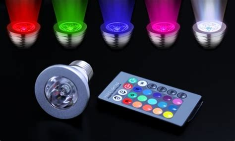 led colored light bulbs color changing led light bulbs groupon goods