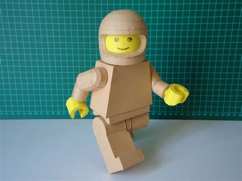 lego crafts for lego minifigure paper craft gadgetsin