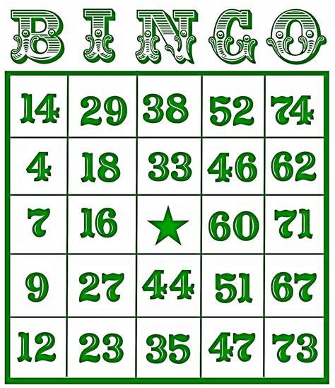 make bingo card christine zani bingo card printables to