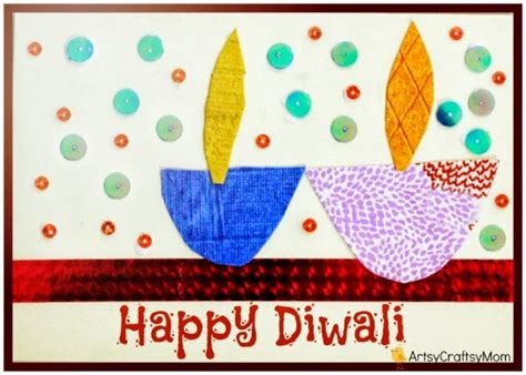 make diwali greeting cards the ultimate list of 15 diy diwali card ideas for to