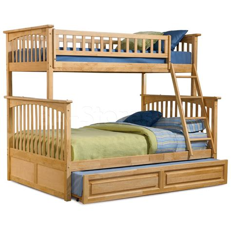 bunk beds with trundle 1115 30 columbia bunk bed raised panel