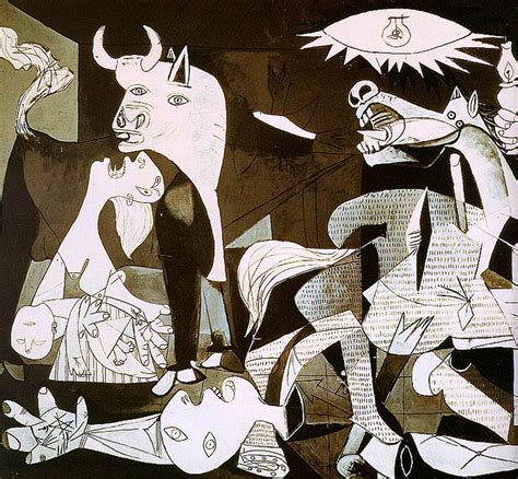 picasso paintings during civil war guernica detail picasso 1930s wallpaper picture