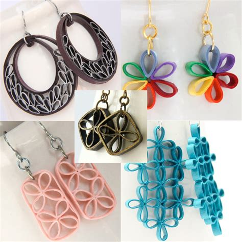 quilled jewelry tutorials step by step paper quilling jewelry beginners www pixshark