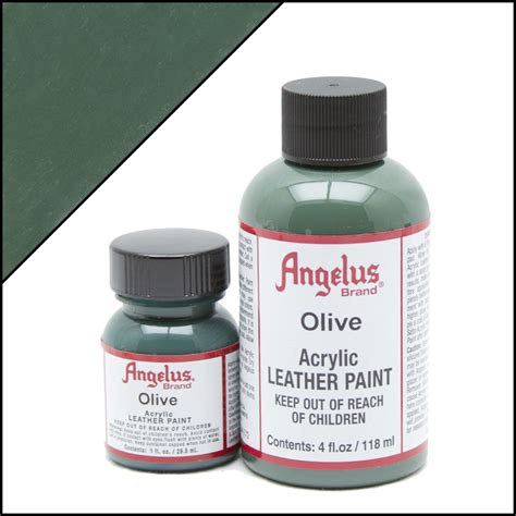 acrylic paint best brand angelus brand acrylic leather paint olive