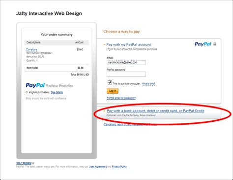 make a payment store card how to pay with a credit card through paypal jafty