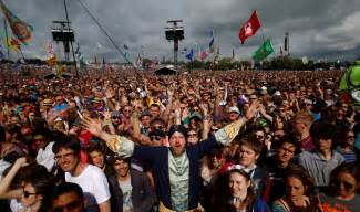 festival pictures glastonbury festival organisers to reveal really big