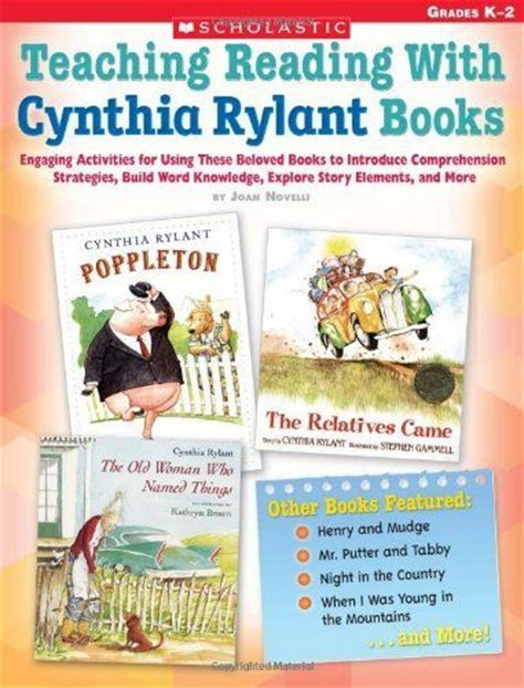 teaching reading strategies with picture books 1000 images about cynthia rylant on author