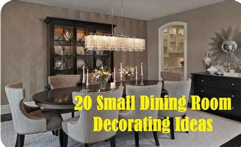 decorating ideas for small dining rooms 20 small dining room decorating ideas