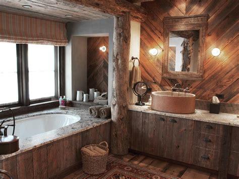 Rustic Spa Bathroom rustic spa bathroom photos hgtv