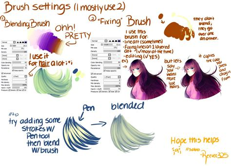 paint tool sai pack brush settings paint tool sai by shintaree on deviantart