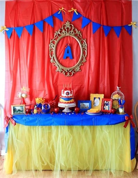 snow themed decorations 25 best ideas about snow white birthday on