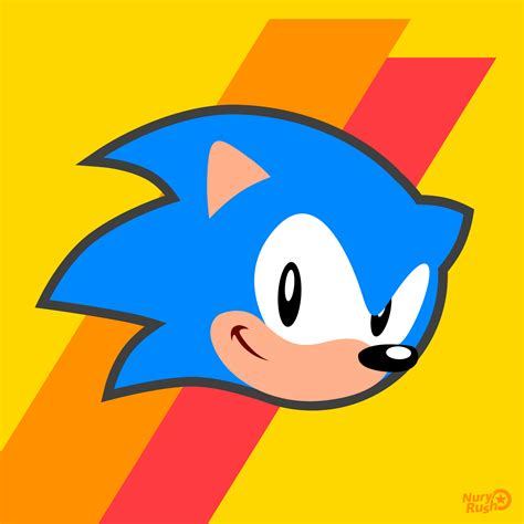 sonic mania icon sonic by nuryrush on deviantart