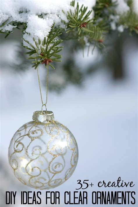 diy clear glass ornaments 11 best photos of clear ornaments ideas fish