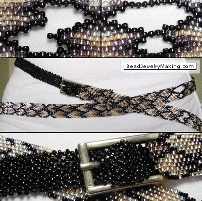 how to make a beaded belt beaded peyote belt bead jewelry