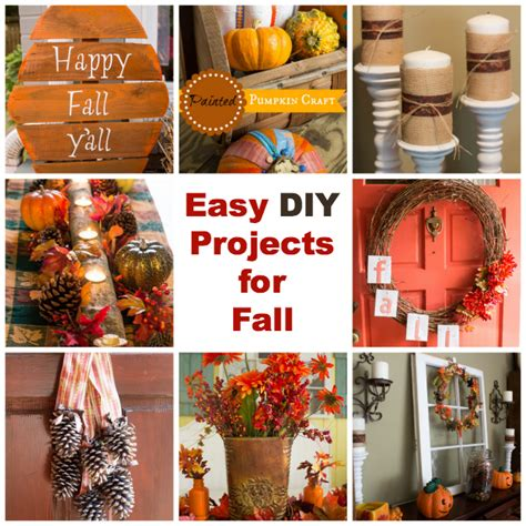 simple craft projects easy diy projects for fall