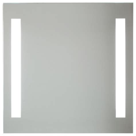 bathroom mirrors modern backlight mirror with 2 vertical lights modern