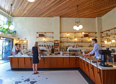 woodworking shop san francisco sightglass coffee opens daylight filled neighborhood cafe