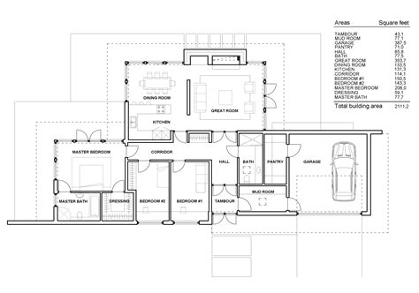 contemporary one story house plans contemporary one story house plans modern one story house