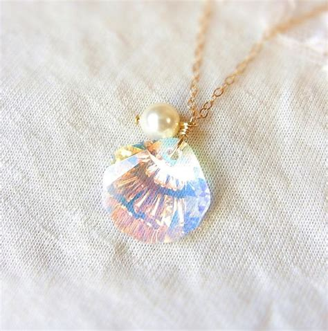 how to make mermaid jewelry best 25 seashell necklace ideas on mermaid