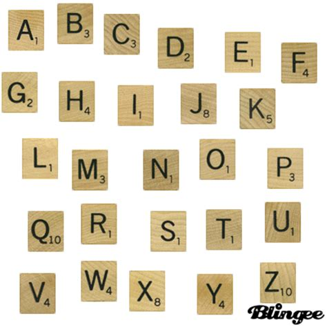 scrabble using all letters scrabble letters picture 106322367 blingee