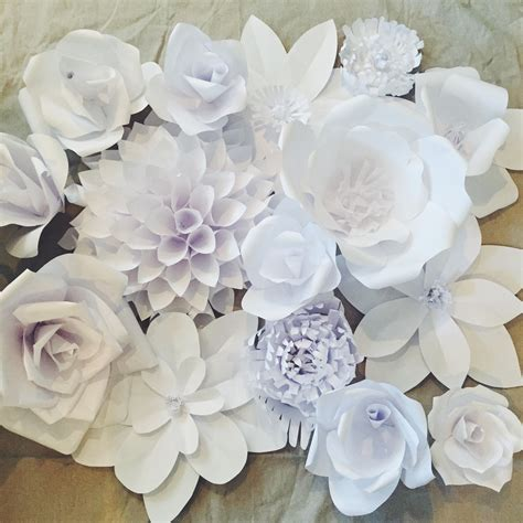 Home Decorating Parties paper flower backdrop flower 1 ash and crafts