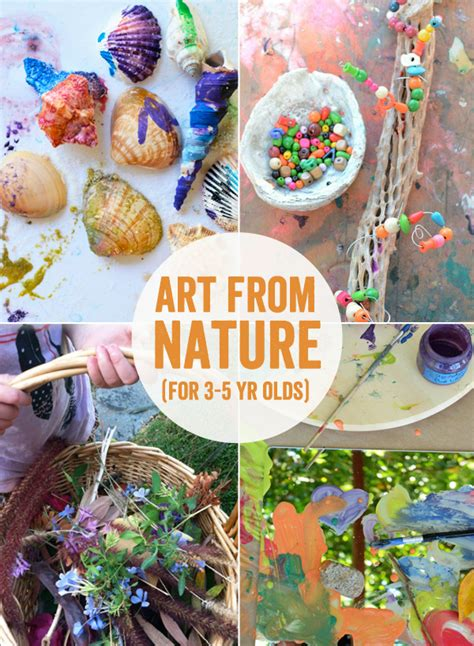 nature craft projects 50 projects for 3 5 year olds meri cherry