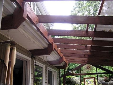 attaching pergola to roof attaching pergola to shingle roof in pergola attached to