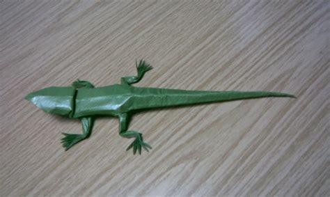 origami lizard brian chan lizard