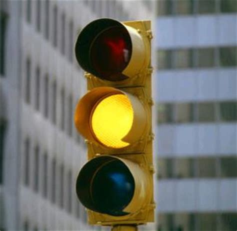 yellow lights extending the time for yellow lights could drop light