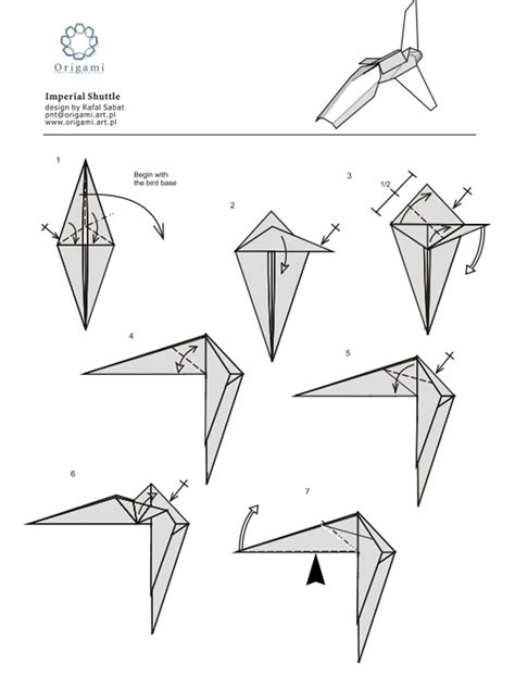 how to make an origami wars 10 diagrams to create your own quot wars quot origami